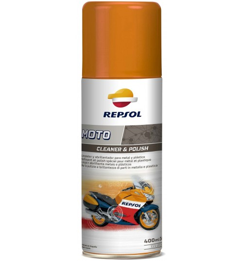 REPSOL MOTO CLEANER & POLISH, 400мл
