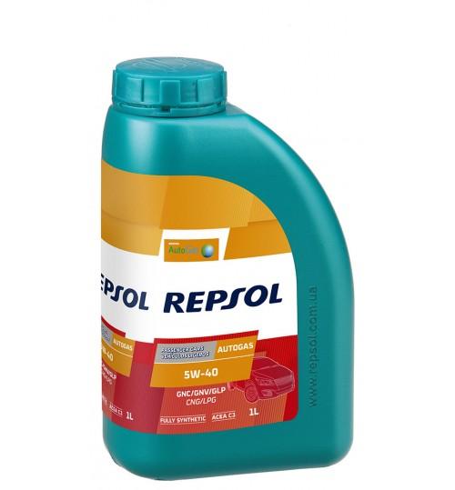 REPSOL AUTO GAS 5W40, 1л