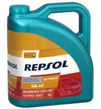 REPSOL AUTO GAS 5W40, 4л