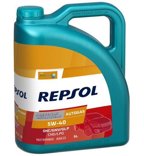 REPSOL AUTO GAS 5W40, 5л