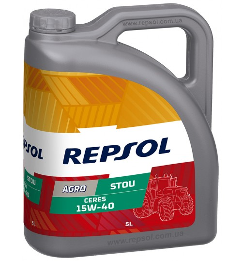 REPSOL CERES STOU 15W40, 5л