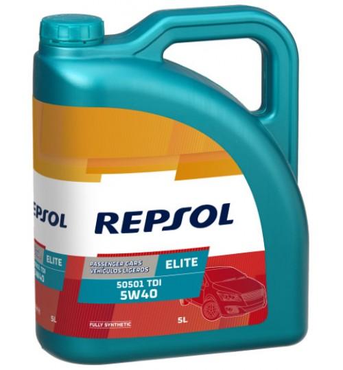 REPSOL ELITE 505.01 TDI 5W40, 5л