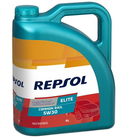 REPSOL ELITE COMMON RAIL 5W30, 5л