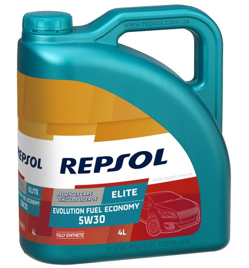 REPSOL ELITE EVOLUTION FUEL ECONOMY 5W30, 4л