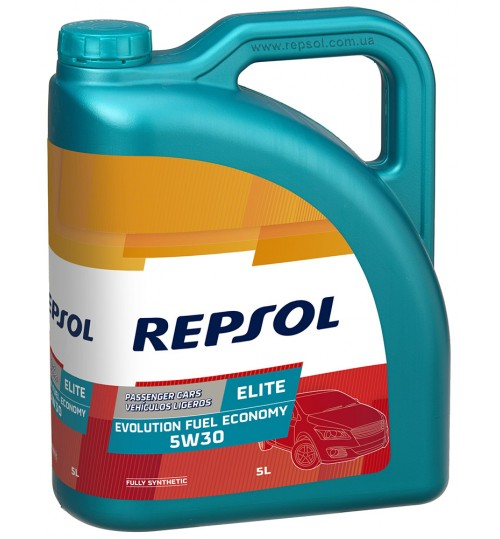 REPSOL ELITE EVOLUTION FUEL ECONOMY 5W30, 5л