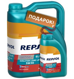 REPSOL ELITE EVOLUTION LONG LIFE 5W30, 5л
