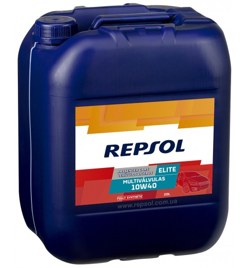 REPSOL ELITE MULTIVALVULAS 10W40, 20л