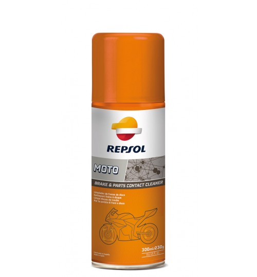REPSOL MOTO BRAKE/PARTS CONTACT CLEANER, 400мл