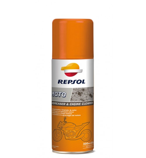 REPSOL MOTO DEGREASER & ENGINE, 400мл