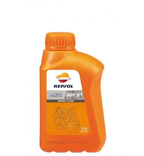 REPSOL MOTO DOT 5.1 BRAKE FLUID, 0,5л