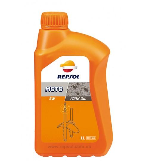REPSOL MOTO FORK OIL  5W, 1л