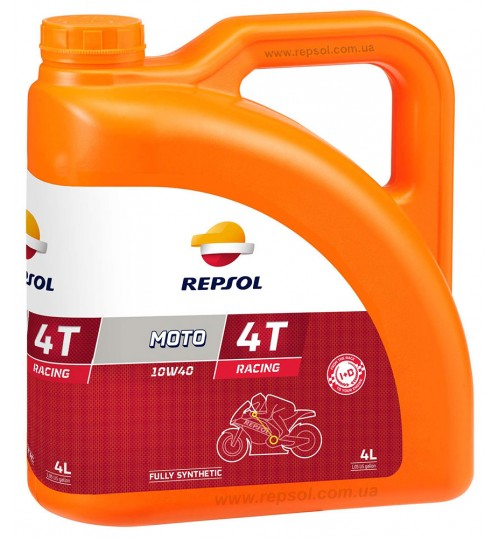 REPSOL MOTO RACING 4T 10W40, 4л