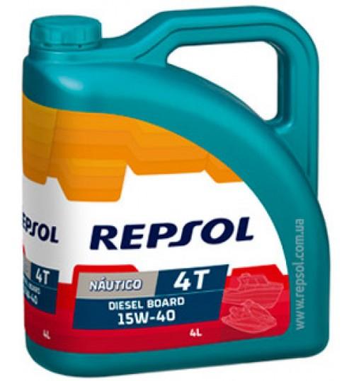 REPSOL NAUTICO Diesel Board 4T 15W40, 4л