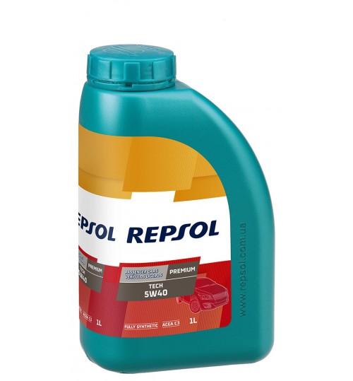 REPSOL PREMIUM TECH 5W40, 1л