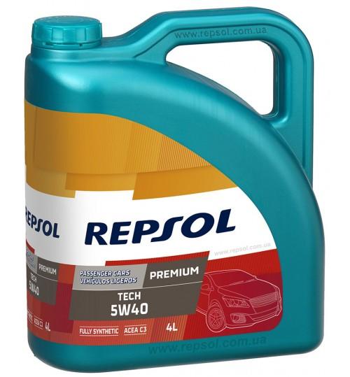 REPSOL PREMIUM TECH 5W40, 4л